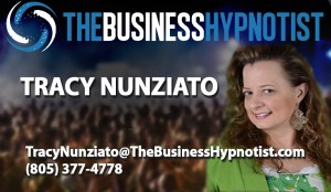 Business Hypnotist Card Template - Tracy Nunziato