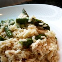 Chicken, Asparagus & Lemon Risotto