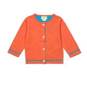PP - orange cardigan