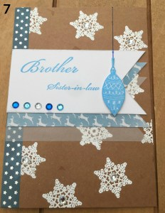 cardmaking banners numbered