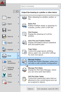 Disabling AutoCAD Layer Output when Plotting to PDF