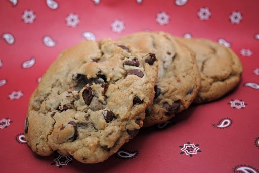 Best Big, Fat Chewy Chocolate Chip Cookie | The Cake Chica