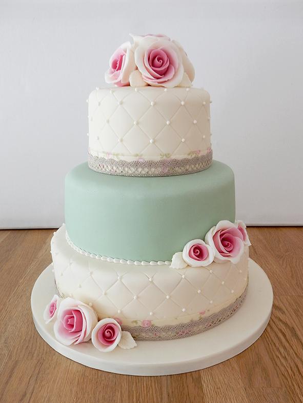 Quilt wedding cake