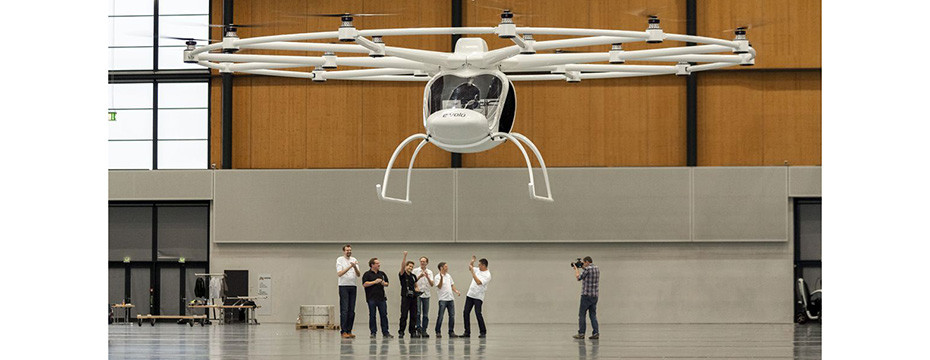 Volocopter VC200 First Flight - This Drone For Me!