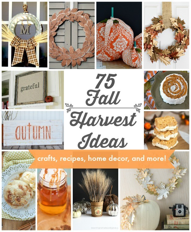 75 Fall Harvest Ideas