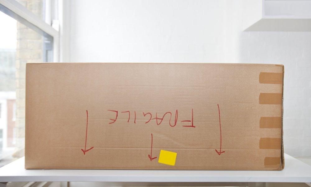 Box upside down