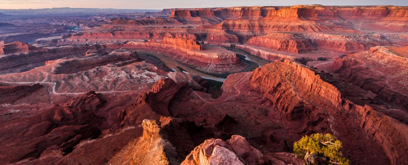 The Colorado River And Canyonlands National Park