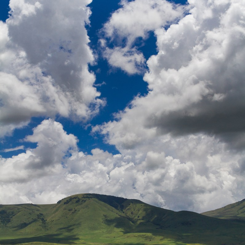 Clouds Over Ngorongoro National Conservation Area, Tanzania