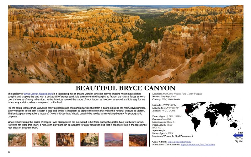 A World Of Panoramas One Page
