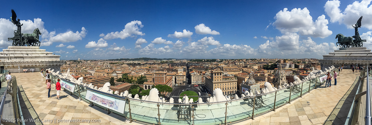 Photo Of The Day – Rome Panorama From Altare della Patria