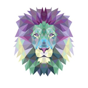 polygonal lion_web2