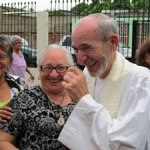 Venezuelans, priests celebrate 40-year gift exchange