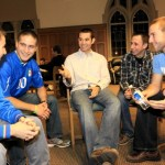 Catholic students strive to be 'strong men of God'