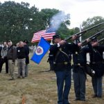 Civil War soldier's grave rededicated