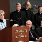 Catholic identity is key for new St. Thomas president