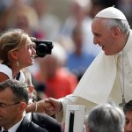 Pope Francis celebrates the Church as loving 'mamma'