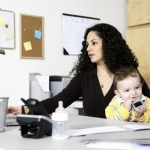 Seeking more support for women to embrace work, kids