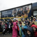 Bus tour highlights positive impact of Catholic schools
