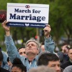 Advocates on either side of marriage case make presence felt