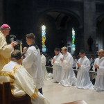 In Minneapolis, nine ordained deacons at May 2 Mass
