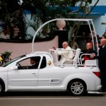 The famous popemobile: Pontiffs have hit the streets in style