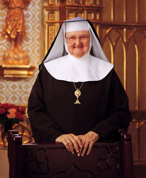 Mother Angelica, founder of the Eternal Word Television Network CNS/courtesy EWTN