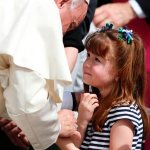 God excludes no one from his love; offers mercy, not hate, pope says
