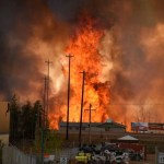 Alberta bishop grateful for no deaths as city evacuated for wildfires