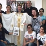 Iraqi women hope chasuble sent to pope will inspire prayers for peace