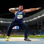 Shot putter says he keeps faith front and center wherever he competes