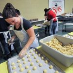 Foley school bakes thousands of Christmas cookies for fundraiser