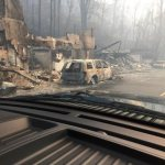 Some fleeing scene of wildfires describe it as escaping 'gates of hell'