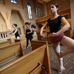 Dancers connect movement with faith in daylong workshop