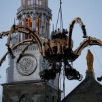 Ottawa archbishop surprised by negative reaction to robotic spider on cathedral