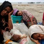 Aid workers see humanitarian crisis as Rohingya flee to Bangladesh