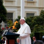Pursue peace through social inclusion, pope tells Colombian officials