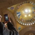 Italian mosaic artist's dream realized with completion of Trinity Dome