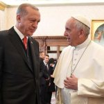 Pope and Erdogan discuss Jerusalem, Mideast peace