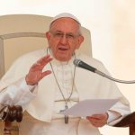 Salvation demands accusing oneself, not others, pope says
