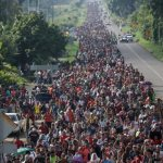 Catholic groups ask for humane treatment of migrants heading for border