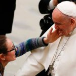 Lord's Prayer is reaching out for father's loving embrace, pope says