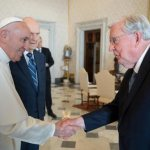 Pope meets top leaders of Church of Jesus Christ of Latter-day Saints