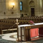 Archbishop Hebda celebrates Mass in empty cathedral
