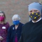 Catholics take part in the 'war effort' by making and donating masks, face shields