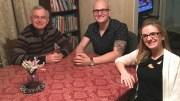 Bernie Feldman, Michael Feldman, and Christina Feldman Wiegand. (Photo courtesy of the Feldman family)