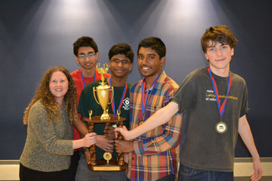 Academic team take home first and fifth place at regional competition