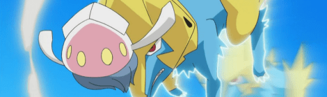Lightning Up Fighting: M Manectric EX and Fighting