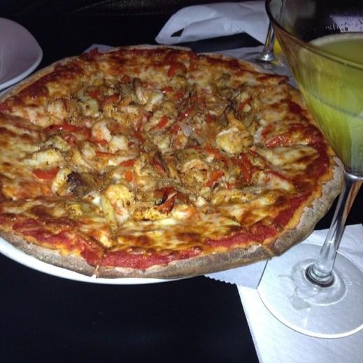 Bayou Pizza $ Summertime Martini