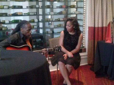 Ruby & J performing
