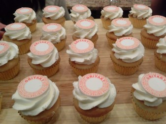 Raspberry filled Mini Vanilla cupcakes... a sweet ending